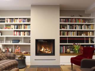 Christoph Lüpken Ofenbau GmbH - Kamine aus Duesseldorf Ruang Keluarga Modern
