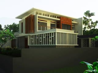 rumah tinggal kupa -rancakendal daun architect