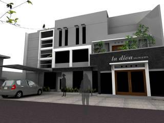 salon ladiva daun architect Rumah Minimalis