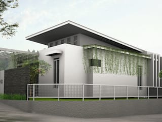daun architect Industrial style houses