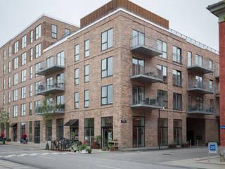 レンガ造りのマンション: デンマークハウスが手掛けた家です。