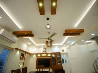 Ceiling designs:   by Qubes Modular Interior Designs