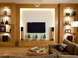 Interior Designers & Decorators in Hyderabad:  Living room by Nxt Dream Interiors