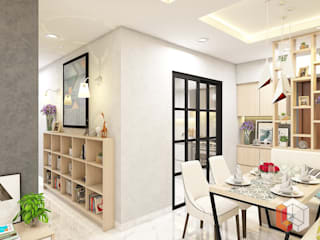 Minimalist dining room by Lavrenti Smart Interior Minimalist