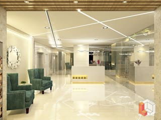 Lobby Hotel Bungur Hotel Modern Oleh Lavrenti Smart Interior Modern
