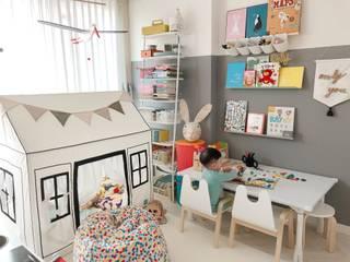 스노우 책상 상세 설명 및 활용 예시: 토끼네집의  아이 방
