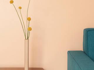 Cylinder Vase. 콘크리트 화병: PLUSTAN. 플러스탠의