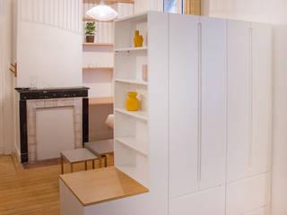 Aménagement M. FURN Petites chambres Bois Blanc