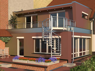 Classic style houses by existo anima Classic