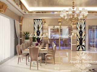Дизайн дома в Испании в стиле арт-деко: Гостиная в . Автор – Дизайн-студия элитных интерьеров Анжелики Прудниковой