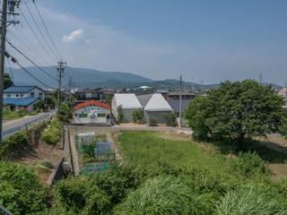 垂井町のコートハウス 北欧風 家 の 武藤圭太郎建築設計事務所 北欧