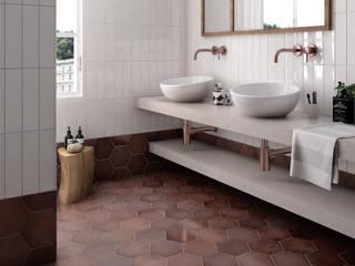 Heritage Baños de estilo industrial de Equipe Ceramicas Industrial Cerámico