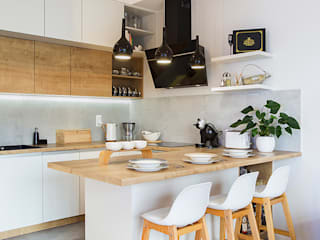 Miejska Ostoja : styl , w kategorii Kuchnia zaprojektowany przez Perfect Space