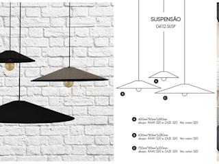 de LUZZA by AIPI - Portuguese Lighting Association Moderno