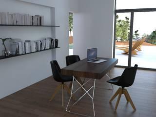 goodmood - Soluções de Habitação Modern Study Room and Home Office