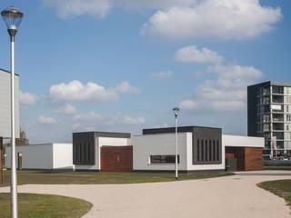Patiowoning Tilburg:  Huizen door Marc Melissen Architect