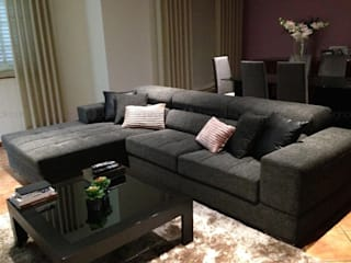 Decordesign Interiores SalasSalas y sillones Textil Gris
