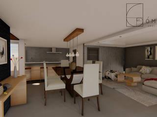 Dining room by GóMEZ arquitectos, Modern