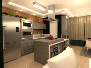 Revisite Built-in kitchens Grey