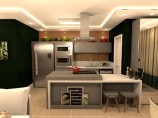 Revisite Kitchen units Grey
