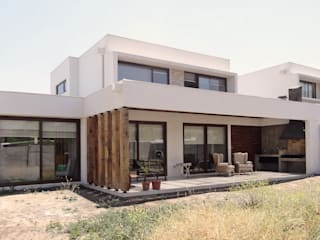 m2 estudio arquitectos - Santiago Mediterraner Balkon, Veranda & Terrasse