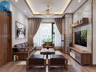 Công ty TNHH Nội Thất Mạnh Hệ Modern living room Wood effect