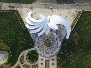 DESTONE YAPI MALZEMELERİ SAN. TİC. LTD. ŞTİ. Salones de eventos de estilo mediterráneo