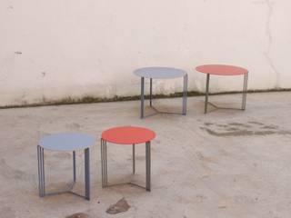 nowheresoon. estudio creativo en madrid SoggiornoTavolini Metallo Variopinto