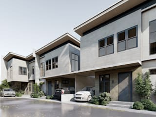 A Proposed 6 Unit Residential Development:  Houses by Studio Each,