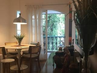 Reforma de apartamento - Grajau: Salas de jantar  por MSR Arquitetura