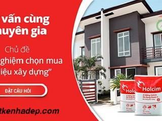 Làm thế nào để chọn vật liệu xây nhà tốt nhất hiện nay :  Phòng khách by Cong-ty-tnhh-xd-tk-tm-gia-lac