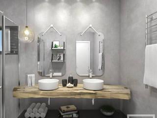 Banheiros Banheiros rústicos por STUDIO 405 - ARQUITETURA & INTERIORES Rústico