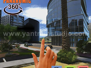360° Virtual Reality Interactive Panoramic Video Developed by Yantram Real Estate VR App, Chicago - USA Yantram Architectural Design Studio Modern