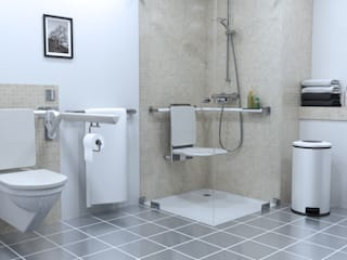 Baños de estilo moderno de existo anima Moderno