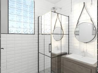 Industrialna łazienka Industrialna łazienka od Lew Architekci & Archideck Industrialny