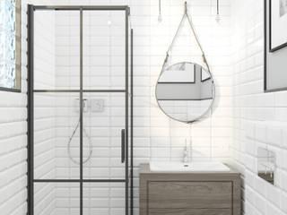 Industrialna łazienka: styl , w kategorii Łazienka zaprojektowany przez Lew Architekci & Archideck