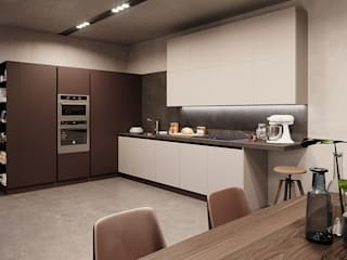 Nespoli 3d의 현대 , 모던