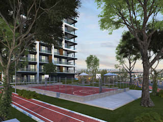 Mimayris Proje ve Yapı Ltd. Şti. สวนหน้าบ้าน ยาง Green