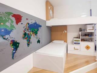 Modern nursery/kids room by Pebbledesign / Çakıltașları Mimarlık Tasarım Modern