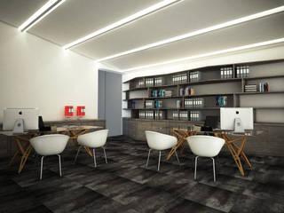 OFFICE ONE: Complessi per uffici in stile  di CARLO OMINI ARCHITETTO