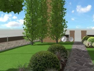 Modern garden by LUCIA PANZETTA - PAESAGGISTA Modern