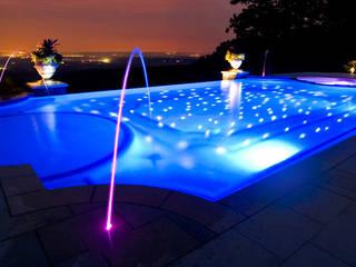 Iluminación LED Warmpool Piscinas