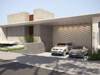Projeto Casa Moderna JC Pendotiba Niterói: Condomínios  por Gelker Ribeiro Arquitetura | Arquiteto Rio de Janeiro