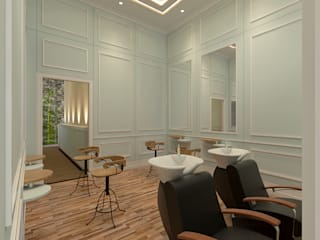 Salon dan SPA interior Eksterior:   by Arsitekpedia