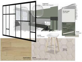 Appartement familial - Levallois / 130 m²:  de style  par A comme Archi