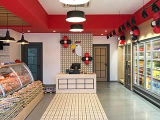Konseptia Mimarlık Dekorasyon – Mağaza Dekorasyon:  tarz Dükkânlar