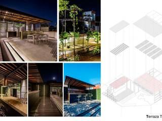 Casas de estilo  por TAP Taller de Arquitectura y Paisajismo