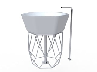 Lavabo DIAMOND:  in stile  di Studio Ferrante Design