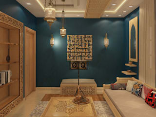 Arabian Sitting design:  Living room by Puzzle