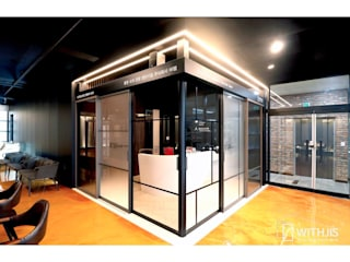 WITHJIS(위드지스) Study/office Aluminium/Zinc Black